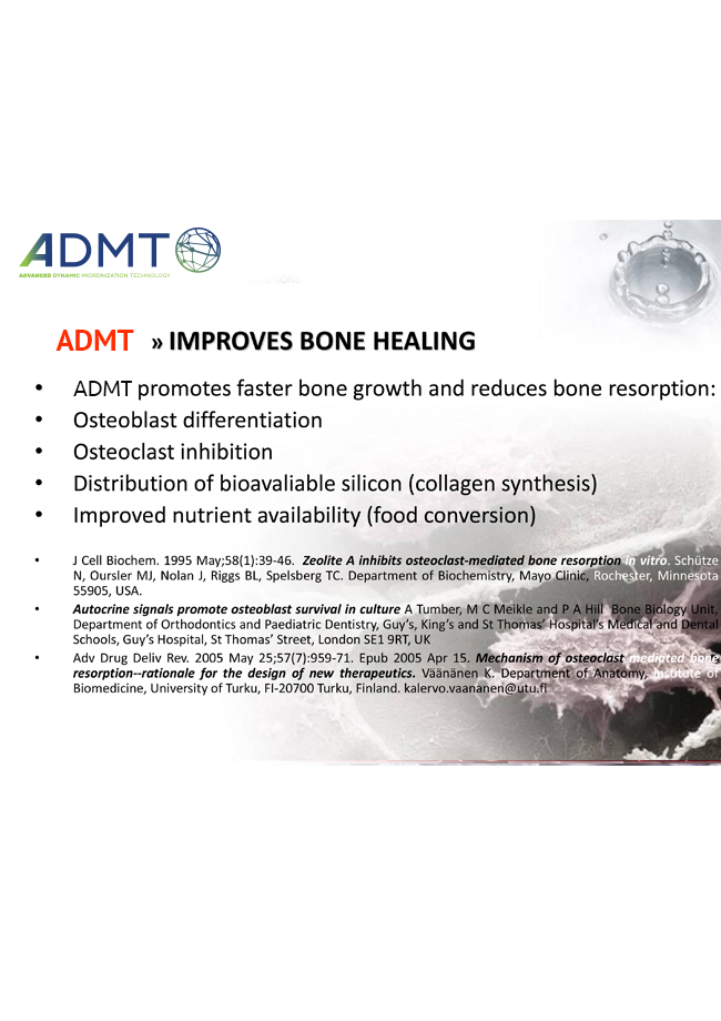 Advanced Dynamic Micronization Technology Improves Bone Healing