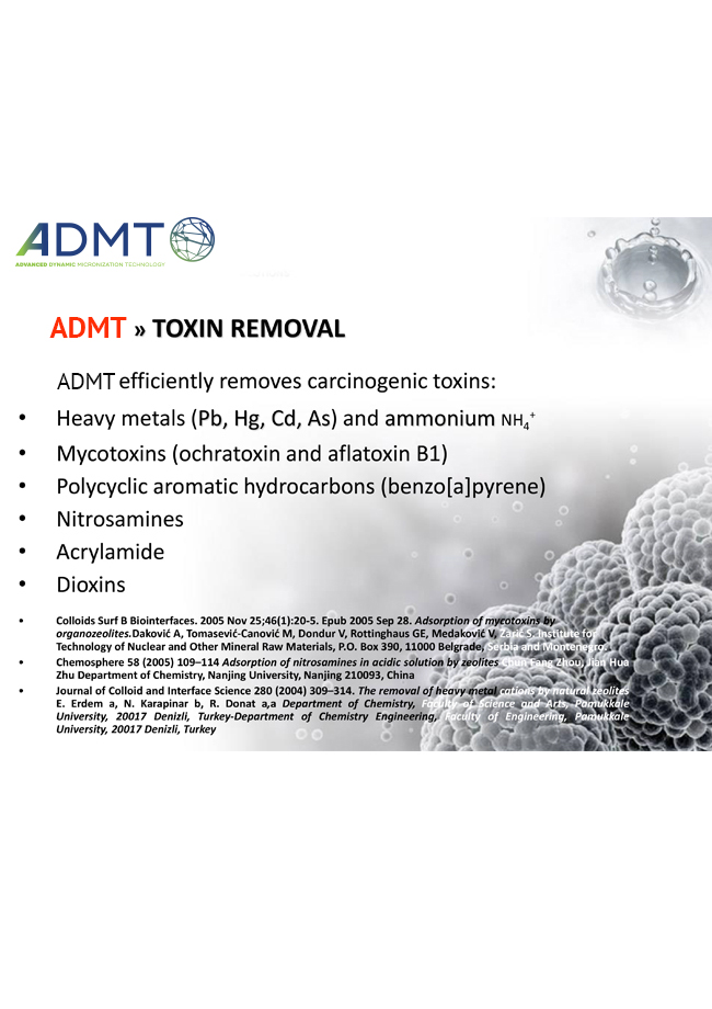 Advanced Dynamic Micronization Technology Toxin Removal